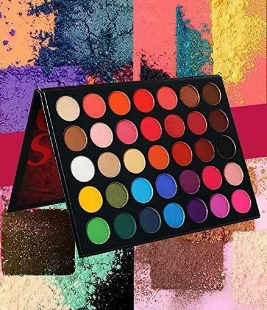 NYN HUDA Insta Beauty Glazed Color Studio Icon Eye Shadow Palette 36 g