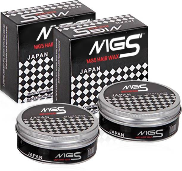 NIGS Hair Wax To Get The Shiny Wet Look And Strong Hold All Day Long 150gm Hair Wax