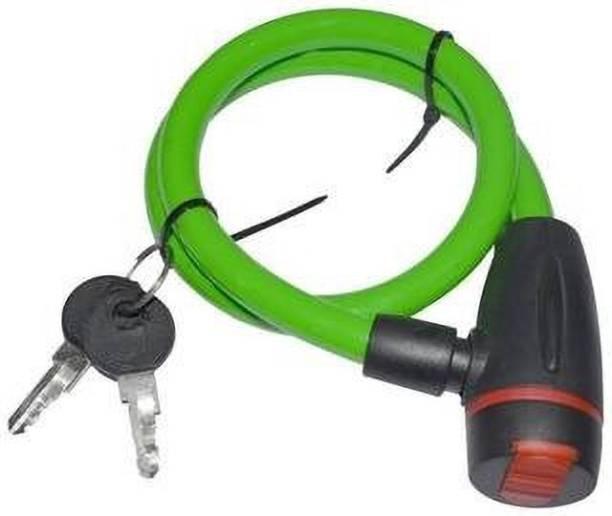 CRAZYGOL Stainless Steel, Plastic Key Lock For Helmet