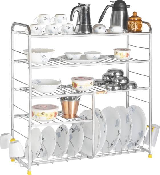 Patelraj Kitchen Stand 30*30 inch Wall Mount Utensil Kitchen Rack