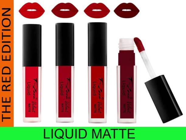 F-Zone Liquid Matte Red Edition Lipsticks