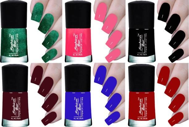Fashion Bar NEW HD INFINITE POWER LASTING NAIL POLISH COMBO SET Multicolor