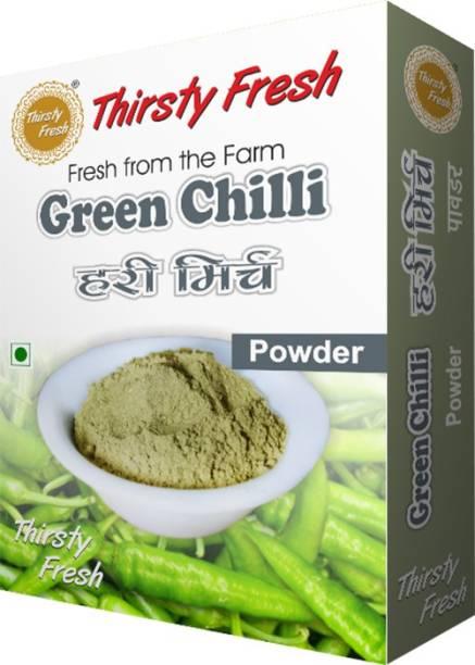 Thirsty Fresh Green Chili Powder - Dehydrated