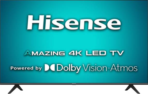 Hisense A71F 139 cm (55 inch) Ultra HD (4K) LED Smart Android TV with Dolby Vision & ATMOS