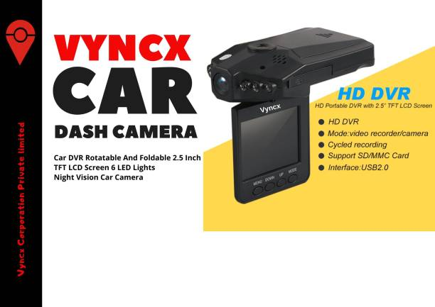 Vyncx Dashboard Camera Dash Camera Vehicle Camera System