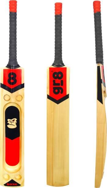 gr8 Kong Kashmir Willow Scoop Tennis Ball Cricket Bat for Heavy & Light Tennis Balls Kashmir Willow Cricket  Bat