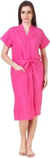 Bombshell Dark Pink Large Bath Robe