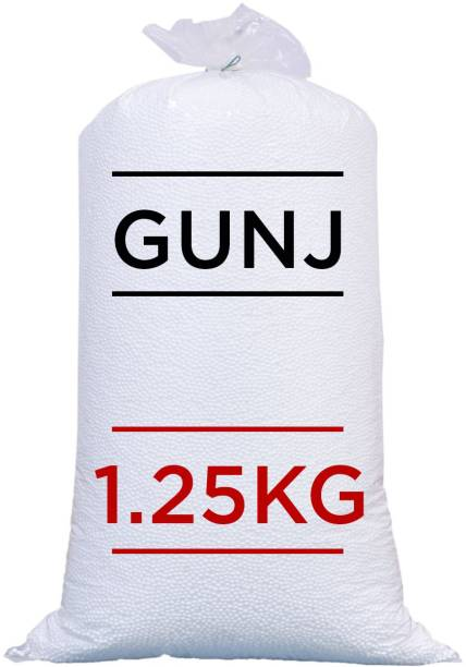 Gunj Premium Bean Bag Refill/Filler-1.250 Kg Bean Bag Filler