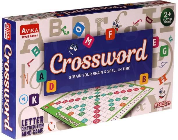 AVIKA Crossword Educational Game Word Games Board Game