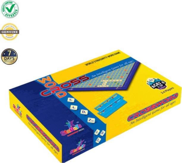 star toys india Crossword Board Game Word Games Board Game