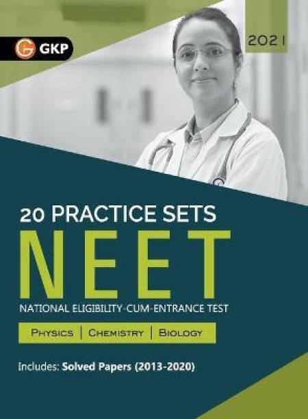 Neet 2021 20 Practice Sets (Includes Solved Papers 2013-2020)