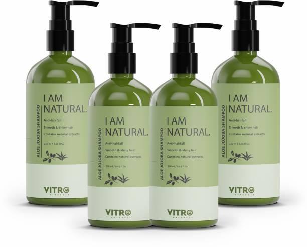 Vitro Naturals Aloe Jojoba shampoo