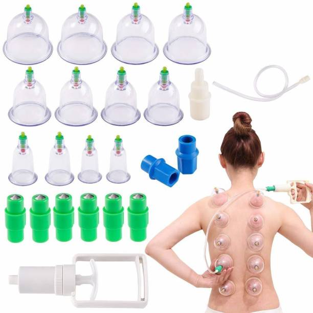 R A Products 12 cupping .... 12 Cups Chinese Traditional Healthy Body Vacuum Acupuncture Cupping Suction Therapy Body Massager Deep Tissue Muscle Relaxer Set Massager