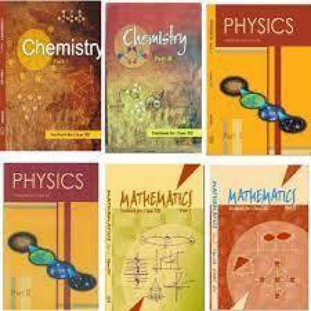 Ncert Physics Chemistry Math Class 12 Set Of 6 Book Pack With (Paperback)