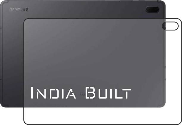 INDIA BUILT Screen Guard for Samsung Galaxy Tab S7 FE BACK CLEAR