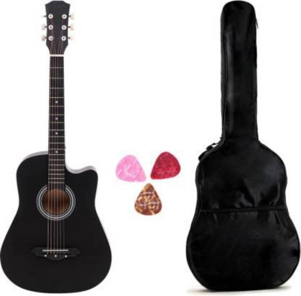 Flipkart SmartBuy FKSB-LGP-BK Acoustic Guitar Linden Wood Rosewood Right Hand Orientation