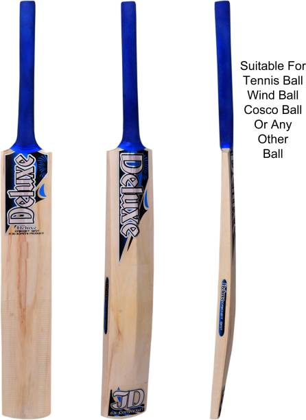 Deluxe Poplar Wooden Cricket Bat For Kids Poplar Willow Cricket  Bat