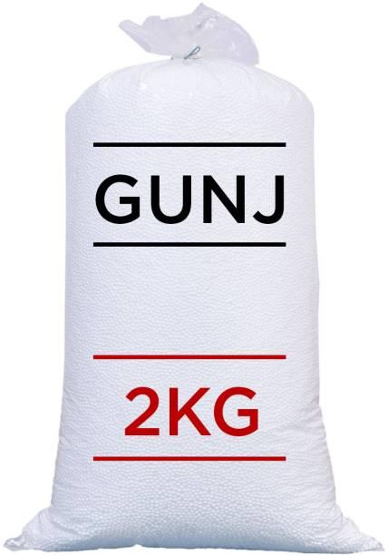 Gunj Premium 2 Kg Bean Bag Refill/Filler - Earth White Bean Bag Filler Bean Bag Filler
