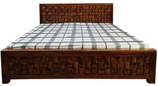 art zone AZBNK01 Solid Wood King Bed
