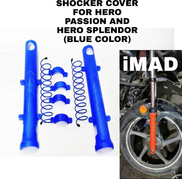 imad SHOCKER COVER FOR HERO PASSION AND HERO SPLENDOR Bike Crash Guard