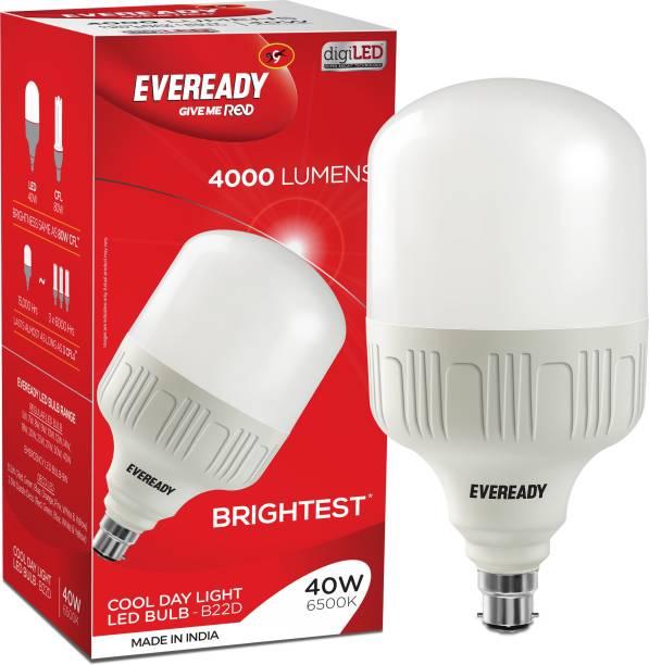 EVEREADY 40 W Standard B22 LED Bulb