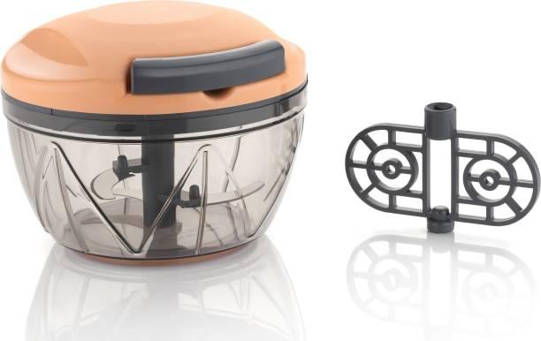 AMAR IMPEX New Unbreakable BPA Free 2IN1 Vegetable & Fruit Chopper Vegetable & Fruit Chopper Vegetable & Fruit Chopper