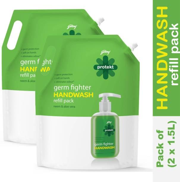 Godrej Protekt M140P12-1500 Hand Wash Pouch