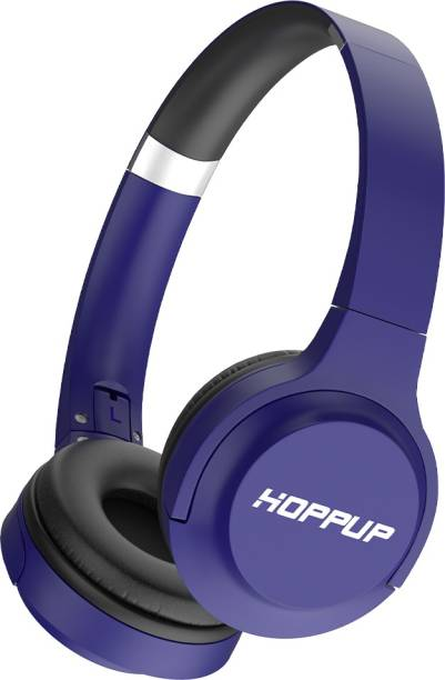 HOPPUP SONIC with 20 Hours Play Time Bluetooth Headset