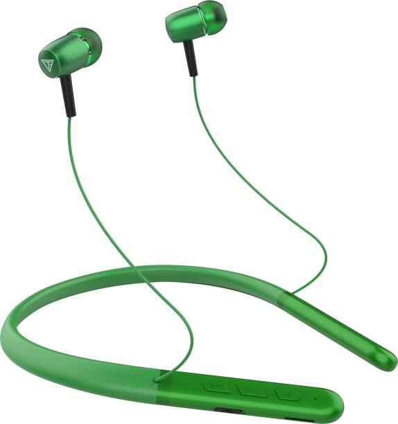 TECHFIRE Titanic Series - Low Price Bluetooth Neckband 20 HOUR PLAY TIME Bluetooth Headset