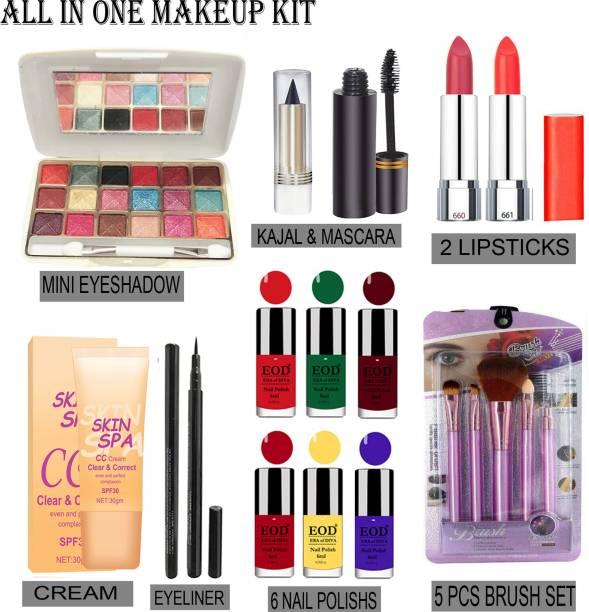 G4U Makeup Cosmetic All-in-One Makeup kit Set Full Multi-purpose Beauty Kit 28J21A31