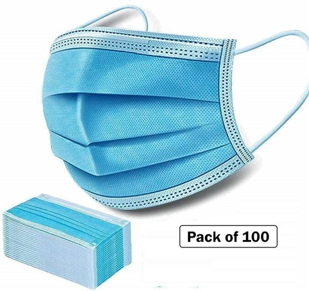 Nea 3ply , 3 layered Pharmaceutical Mask Face Mask Anti Pollution , Anti Viral Mask CE , ISO , DRDO , SITRA Certified with nosepin Surgical mask Surgical Face Mask - 007 Surgical Mask With Melt Blown Fabric Layer