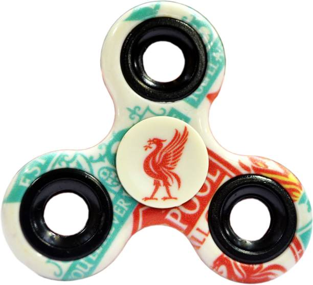 PREMSONS Fidget Spinner Single Bearing Printed Hand Toy For Adults and Children