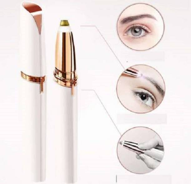 Mee&Mommy Electric Painless Eyebrow Trimmer /Razor Shaver / Threading Tool for Women (With Battery)