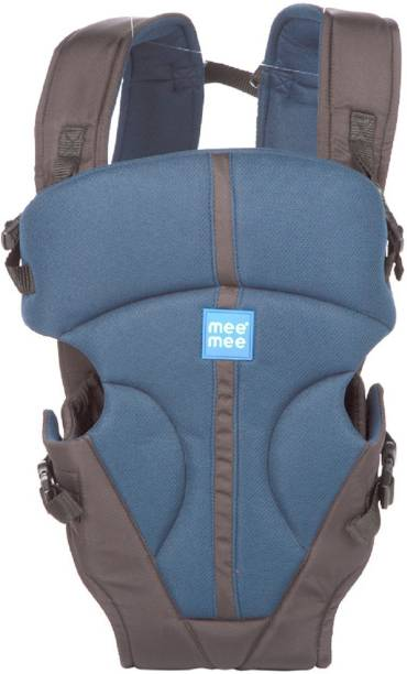 MeeMee Lightweight Breathable Baby Carrier (Navy Blue) Baby Carrier