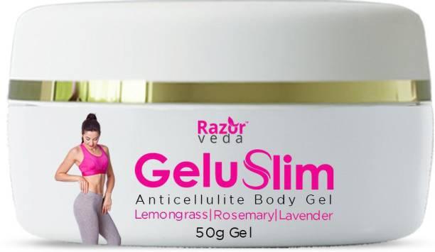 Razorveda Geluslim Anti Cellulite Body Slimming Gel for Stomach, Thighs, Hands, Tummy, Skin Toning - All Natural Ingredients