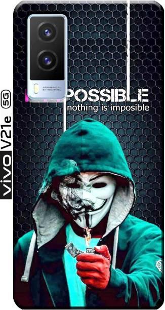 TrenoSio Back Cover for Vivo V21e