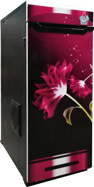 Aastha Enterprise Gharghanti Specially For Masala & Grains Grinding (2 in 1) With Standard Premium Accessories Pink Black Shades Door with Pink Flower Flourmill
