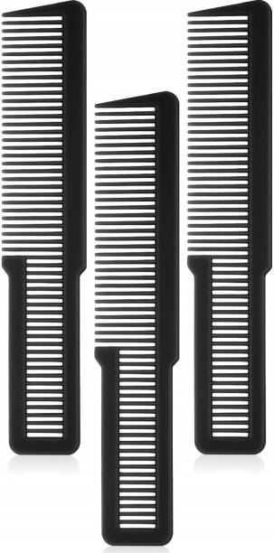 E-DUNIA Pieces Hair Cutting Comb Professional Styling Comb Barber Styling Hair Comb Clipper Cutting Comb for Stylists and Barbers [PACK OF 3]