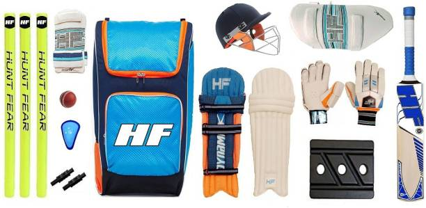 HF DYNAMIK PRO SERIES 2021 SET OF 5 NO ( IDEAL FOR 10-12 YEARS ) COMPLETE Cricket Kit