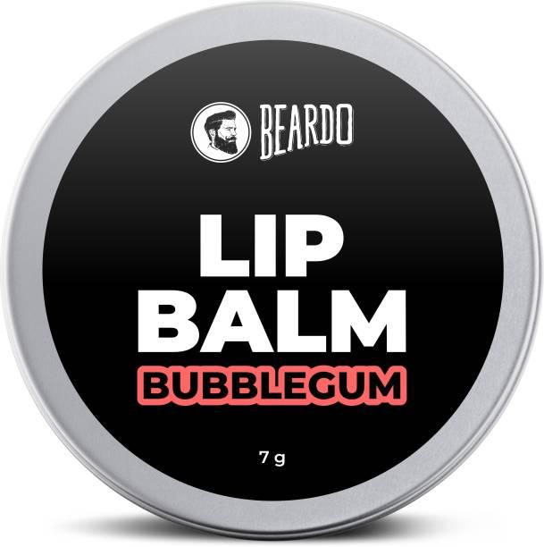 BEARDO Bubblegum Lip Balm for Men 7 gm | for soft Kissable lips | Lip Care For �Dry, Cracked and Chapped lips | Lip Repair & Protection Bubblegum