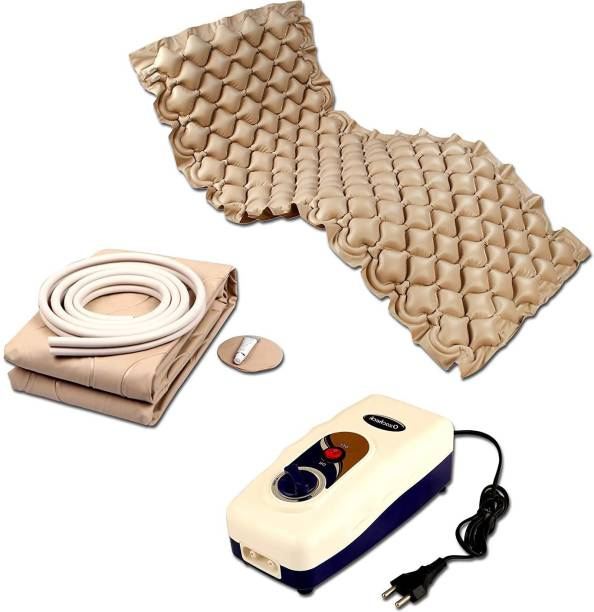 Ozocheck Anti Decubitious Air and Bubble Mattress with Pump | Prevention of Bed sores | Supports upto 100Kg F04180053 Massager