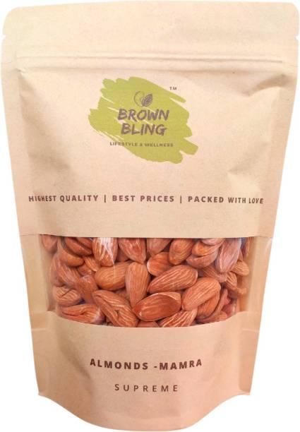 Brown Bling Almonds - Mamra - Supreme 1 x 250g Almonds