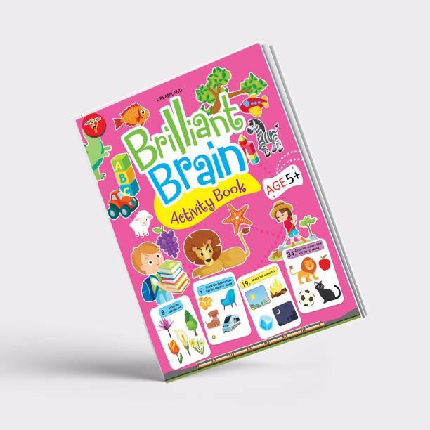 Miss & Chief Brilliant Brain Activity Book 5+ (Paperback)