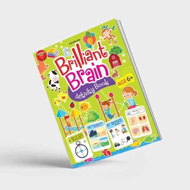Miss & Chief Brilliant Brain Activity Book 6+ (Paperback)