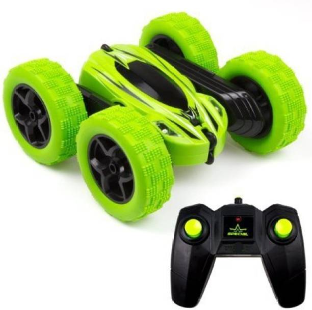 Royaldeals Stunt Car, Double Sided 360° Rolling Rotating