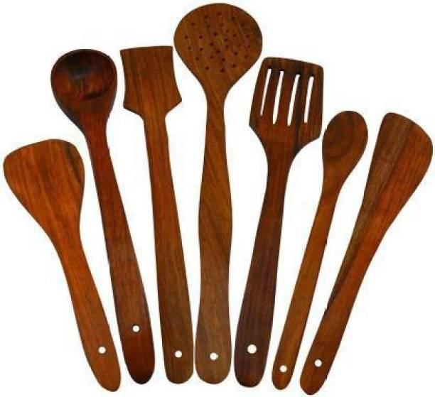 Levasto Wooden Serving Spoon Set