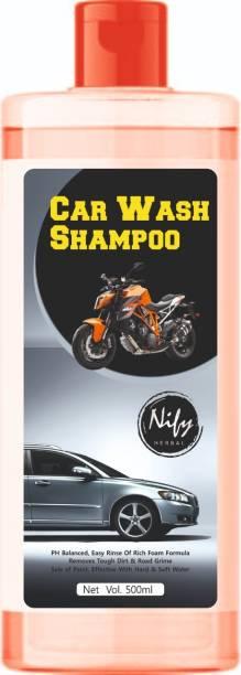 nify herbal orange High Foam Car Shampoo Car Washing shampoo Liquid Car Washing Liquid Car Washing Liquid