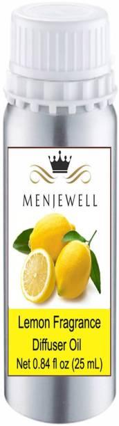 Menjewell Lemon Fragrance Aroma Oil, Diffuser