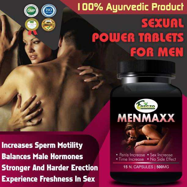 Fasczo Man Maxx Sexual Capsules For Increases Your Sexual Time & Stamina/Sexual Power Tablets For Men