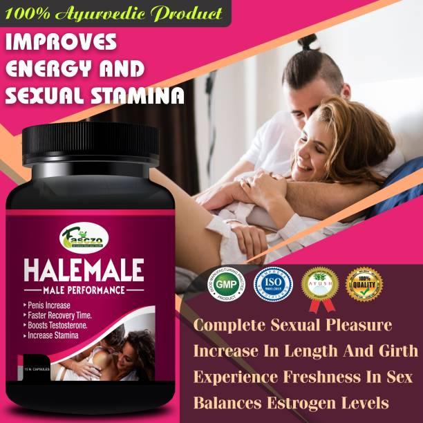 Fasczo Hale Male Sexual Capsules ling mota lamba karne ki Dawai/ Sex Power Badhane Ki Dawa 100% Pure
